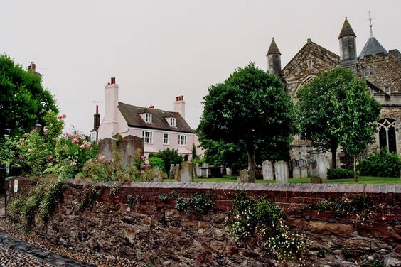 Church square, Rye, comté d'East Sussex, Angleterre, Royaume-Uni.