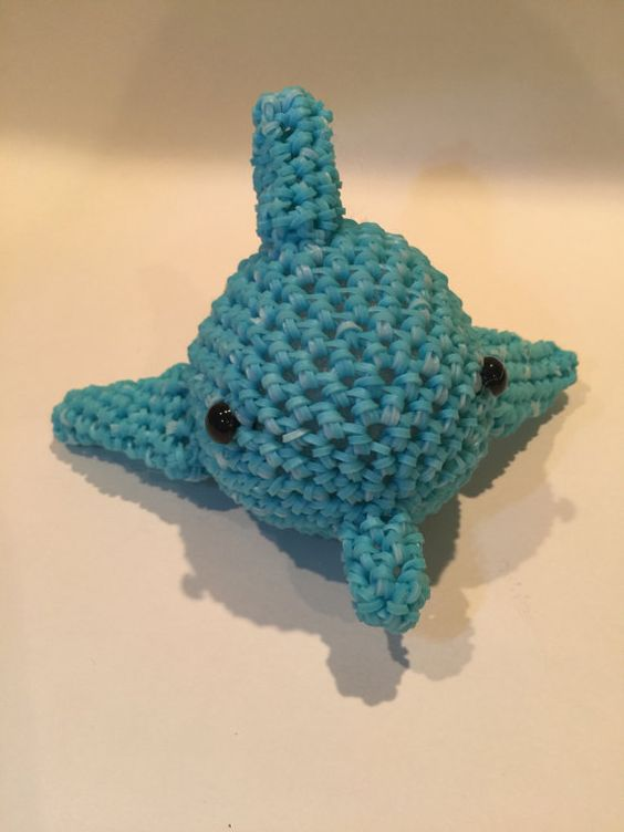 Rainbow loom dolphin - photo#34