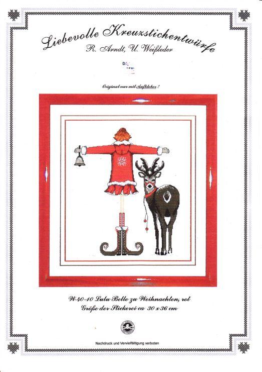 Gallery.ru / Фото #1 - Lulu Belle zu Weihnachten 2010, rot - Ulrike
