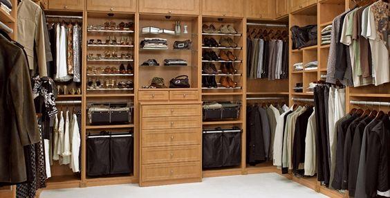 His closet :)