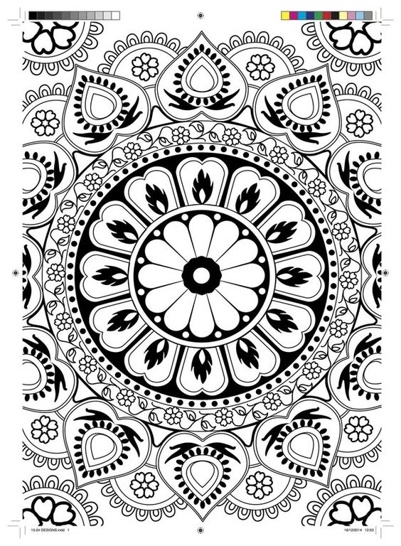 """Print This Coloring Book Page To De-Stress Instantly"" by Kate Bratskeir for HuffPost. A clever new monthly subscription style program for transcending stress through coloring from Hatchette Paperworks. It even includes a variety of coloring media and tools (pencils, pens and more). To check it out, click the pic."