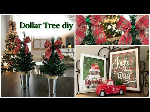 199 Plaid Week Day 5 Dollar Tree Diy How To Level Up Dollar Tree Pre Made Decor Youtube Dollar Tree Diy Dollar Tree Decor Dollar Tree Crafts