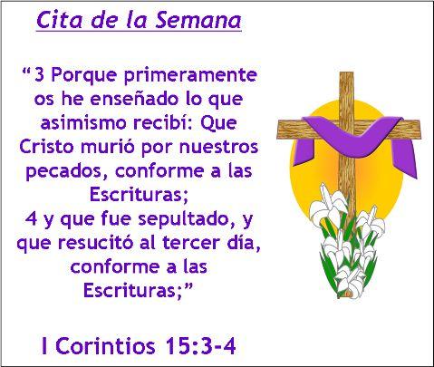 Cita de la Semana (Mar 24, 2013)