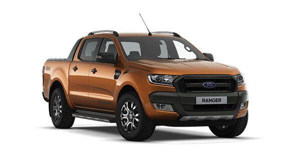 Ranger Wildtrak Front Orange In 2020 Ford Ranger Ford Ranger Wildtrak Ranger