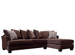 kathy ireland Home Ryann 2-pc. Microfiber Sectional Sofa | Family Room | Pinterest | Kathy ireland and Room  sc 1 st  Pinterest : kathy ireland sectional - Sectionals, Sofas & Couches