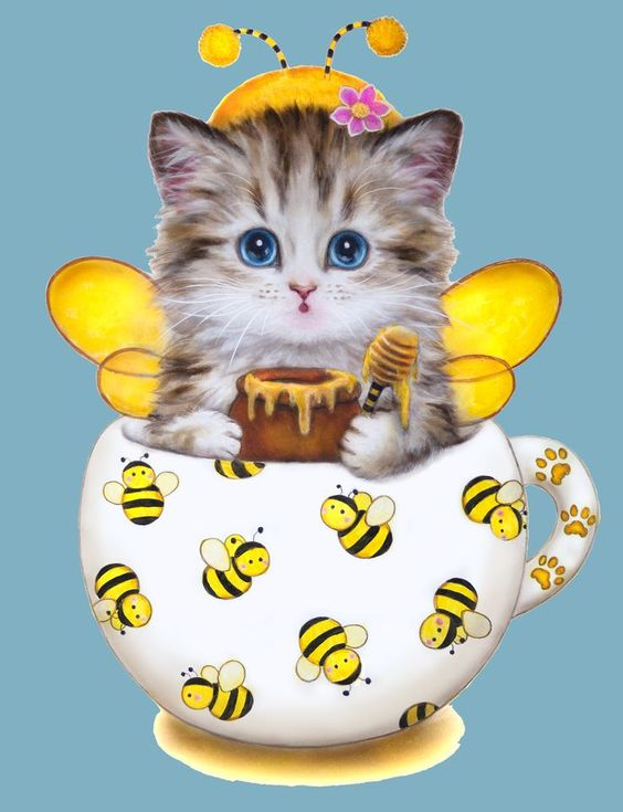 Kayomi Harai Kittens Cup | KITTY BEE BY KAYOMI HARAI VISIT OUR WEBSITE www.lailas.com for more ...