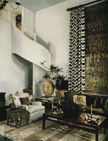 vintage room by designer Albert Hadley