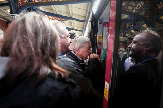 13.6.13. The 07.42 from Henley to Paddington is Britain's most crowded train