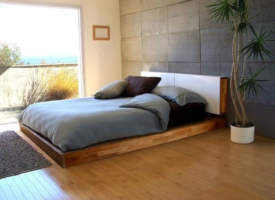 Betten für die Familie Trendsetter  - Feng Shui Schlafzimmer Bett Positionierung