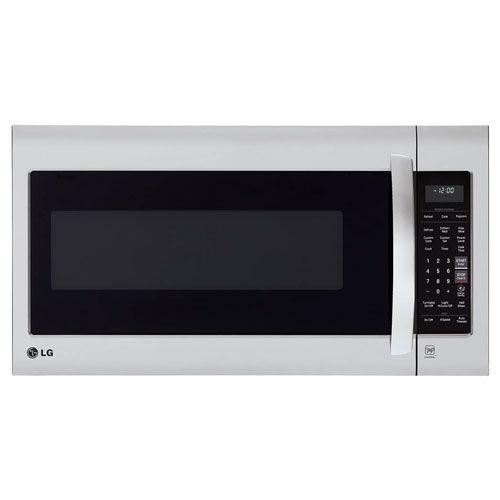 3 Lg Lmv2031st 2 0 Cubic Feet Over The Range Microwave Oven Stainless Steel Range Microwave Microwave Space Savers