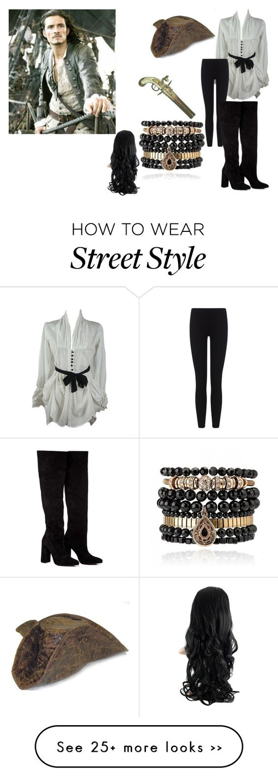 """Drink me up hearties yo-ho!"" by de-garbelini on Polyvore featuring moda, James Perse, Anouki y Samantha Wills"