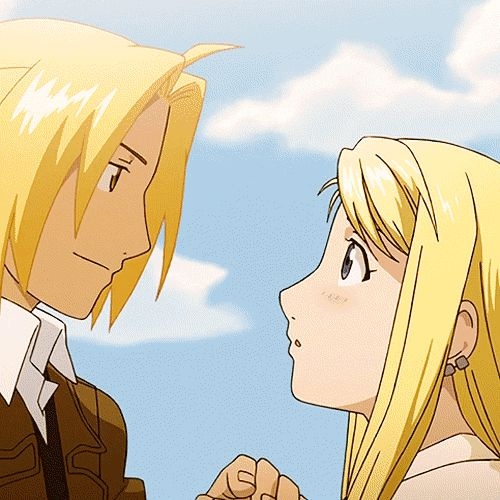 Fullmetal Alchemist: Brotherhood - Edward and Winry <3