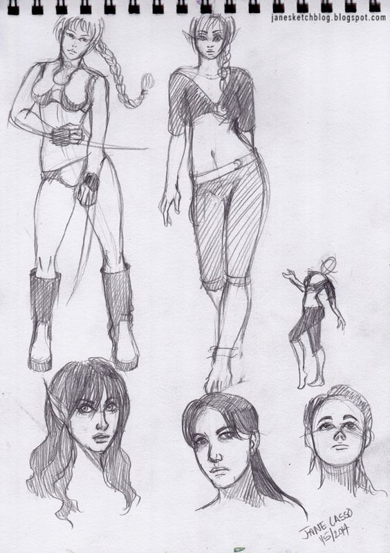 Sketches con lápiz #Dibujos #drawings #sketches
