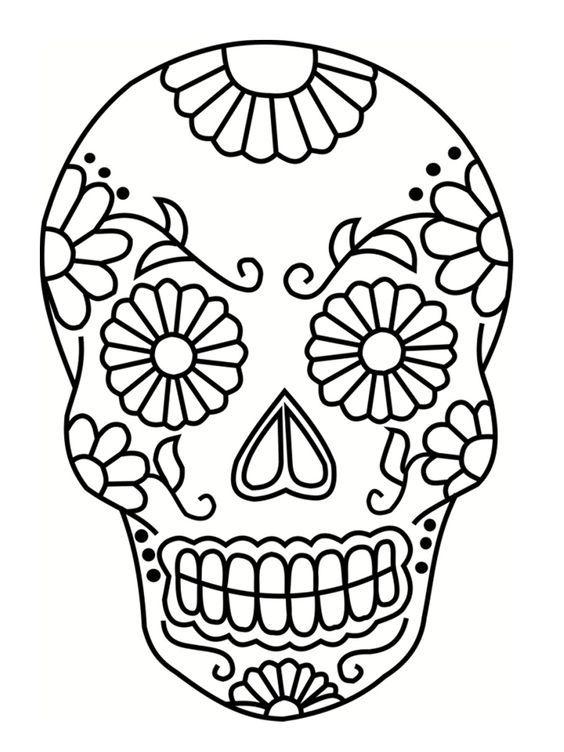 Hermosa Coleccion De Calaveras Para Colorear Con Motivo Del Dia De Muertos Mate Calaveras Para Colorear Calaveras Mexicanas Para Colorear Dibujos Sugar Skull