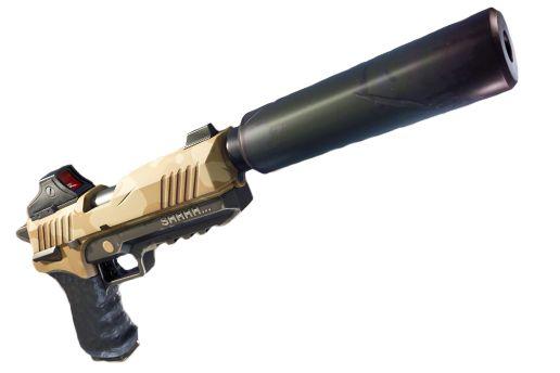 Http Www Eclypsia Com Content Dossier 20r C3 A9dacteurs D4yless Fortnite Pistolet Silencieux Png Pistolet Fortnite Armes