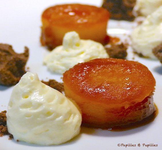 Pommes au four façon Tatin  (pour 6 personnes)      9 pommes (Pink Lady)     300 g de sucre en poudre     60 g de beurre (ou beurre salé si vous préférez)