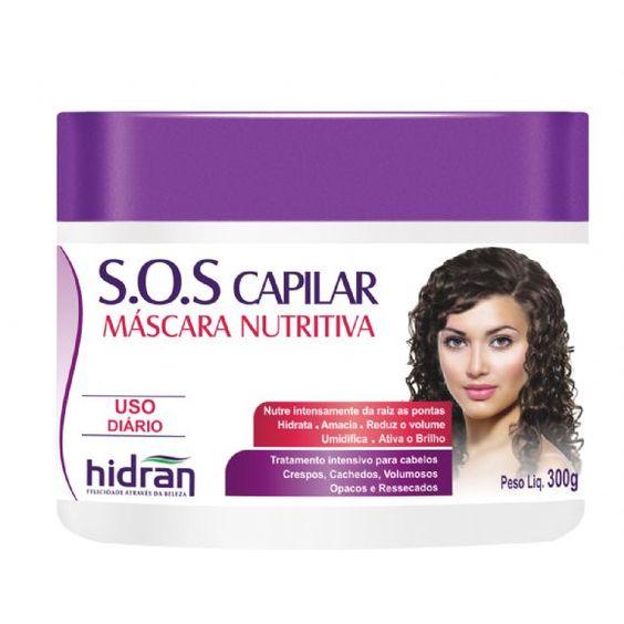 tutannol hidratacao | Máscara Nutritiva S.O.S Capilar 300g