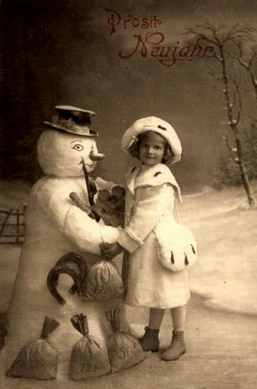 me and frosty
