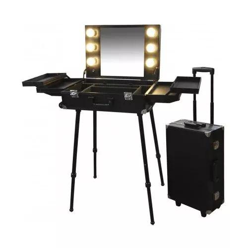 Portable Beauty Salon: Maletin Camarin Peluqueria Maquillaje - $ 9.900,00