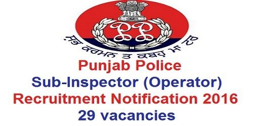 how to become inspector in punjab police