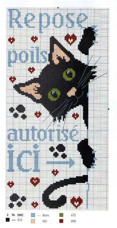 Cross-stitch Peek-a-Boo Kitty...    Gallery.ru / Photos # 2 - 26 - Elgy: