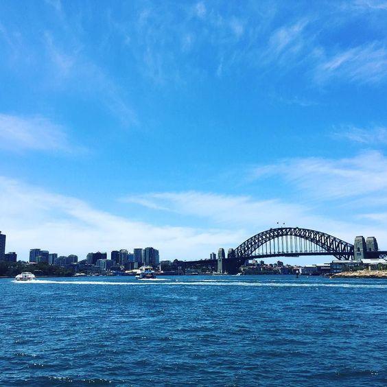 #Sydney weather finally turning it on #sydneyharbourbridge #australiagram_nsw #visitnsw #nsw #istockalypse by davidfoto http://ift.tt/1NRMbNv