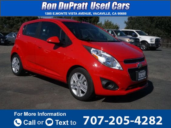 2014 *Chevrolet* *Chevy*  *Spark* *LS*  31k miles Call for Price 31509 miles 707-205-4282 Transmission: Automatic  #Chevrolet #Spark #used #cars #RonDuprattUsedCars #Vacaville #CA #tapcars