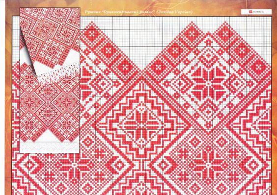 Gallery.ru   Фото  118 - схеми вишиванок - vira-pagut  f0a539c8534ac