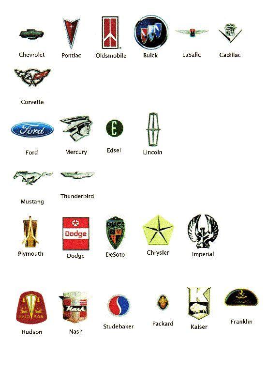 Quizz Logos De Voitures Amricaines Quiz Autos Modeles Marques