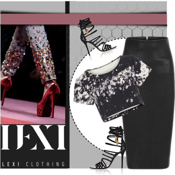 LEXI CLOTHING 8 by monmondefou on Polyvore featuring moda