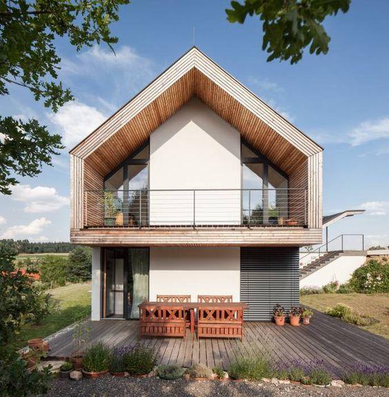 GOL 2 - Einfamilienhaus: Modern Terrasse von g.o.y.a. Architekten