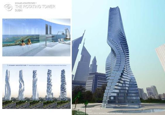 el edificio giratorio lo mejor de la con el rascacielos giratorio de dubai tecnologia pinterest dubai