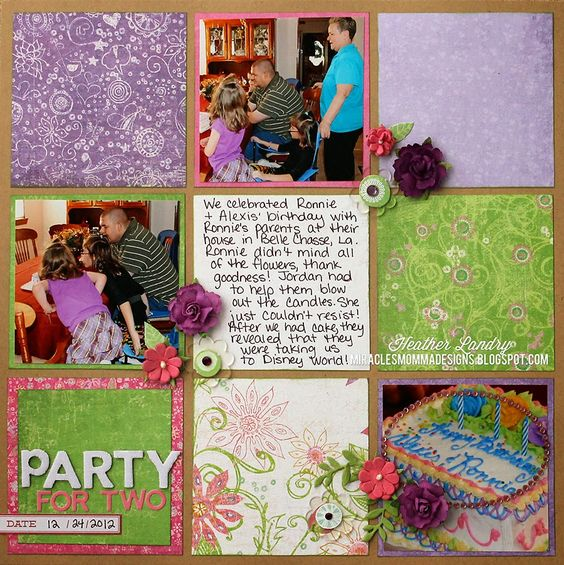 Party For Two - Scrapbook.com