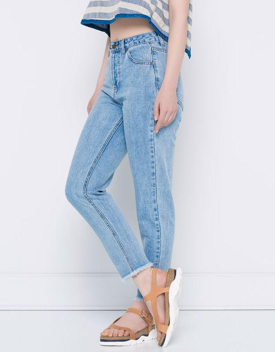 :JEANS MOM FIT