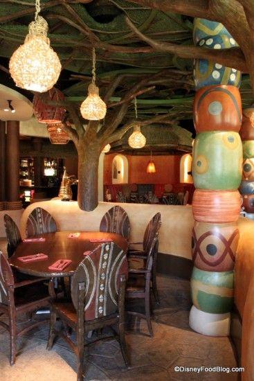 free tours at animal kingdom lodge restaurants disneyfood