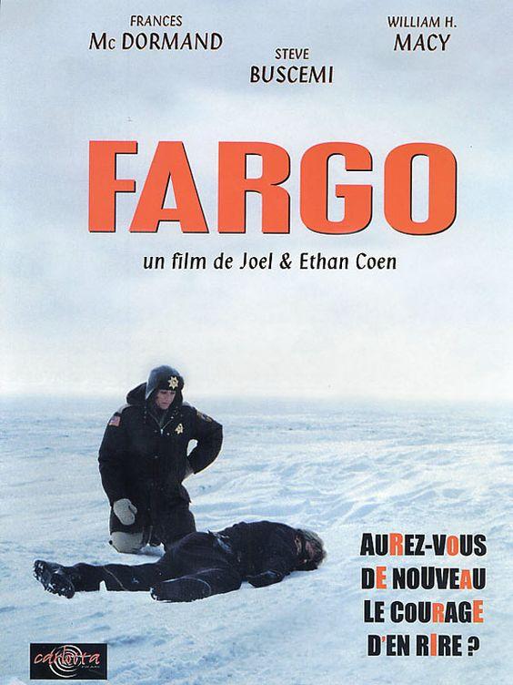 Fargo est un film de Joel Coen avec William H. Macy, Frances McDormand. Synopsis : En plein hiver, Jerry Lundegaard, un vendeur de voitures d'occasion à Minneapolis, a besoin d'un prêt de Wade Gustafson, son riche beau-père. Endetté