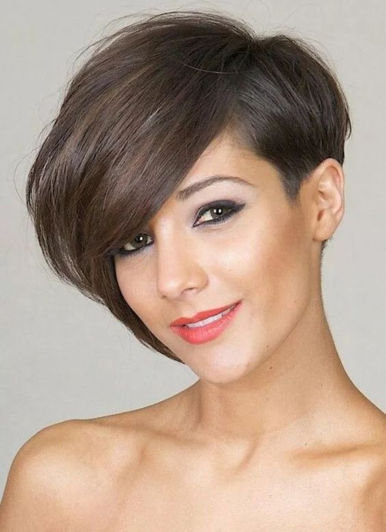 Asymmetrische kurzhaarfrisuren kurzhaarfrisuren pinterest for Kurzhaarfrisuren pinterest