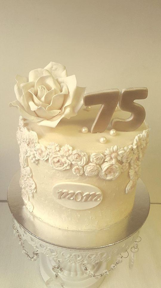 75th Birthday Cake