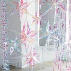 Etoiles de fête irisées (par 3) - Modern Confetti