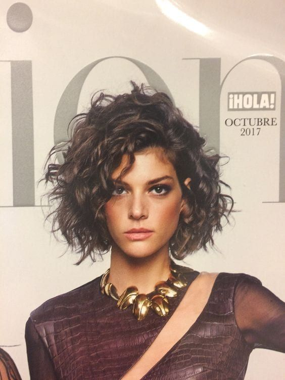 Cute Curly Haistyles In 2019 Short Curly Hair Curly Hair