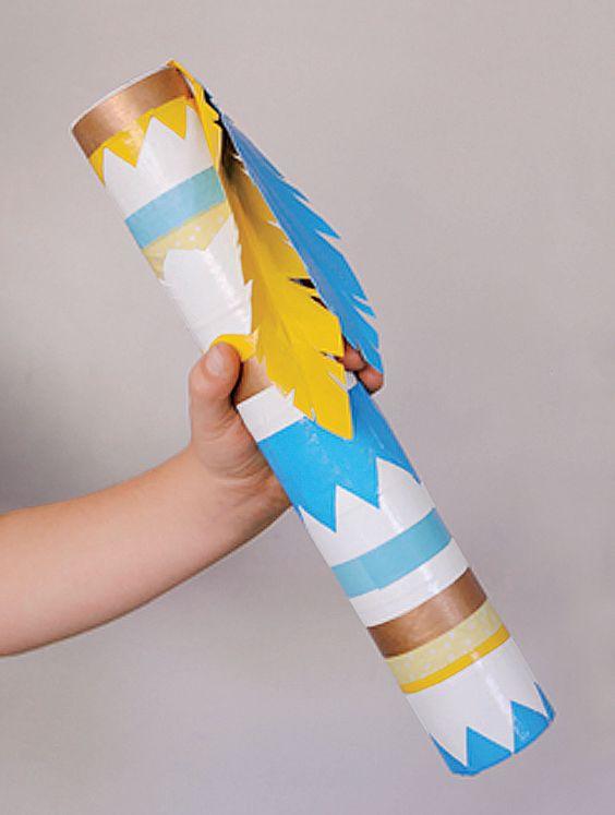 Rain Stick Craft | Parents | Scholastic.com: