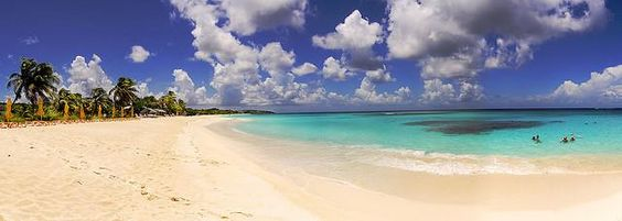 Shoal Bay Anguilla's most famous beach