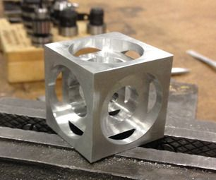 Turner S Cube A Beginner Cnc Milling Project Milling