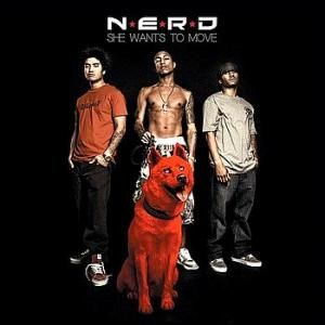 N.E.R.D – She Wants to Move (single cover art)