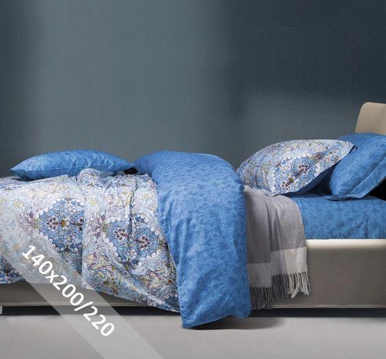 Primaviera Dekbedovertrek - Kaylee - Blauw - 140x200-220 cm