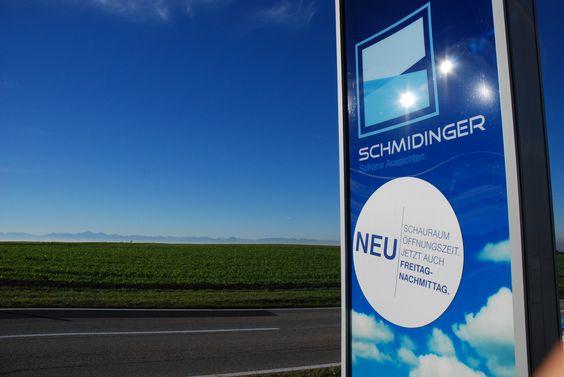 Fenster Schmidinger in Gramastetten Oberösterreich - Schauraum am Freitagnachmittag geöffnet! Freuen uns auf Ihren Besuch