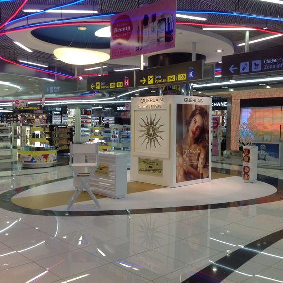 Promoción para Guerlain. Aeropuerto de Madrid T4