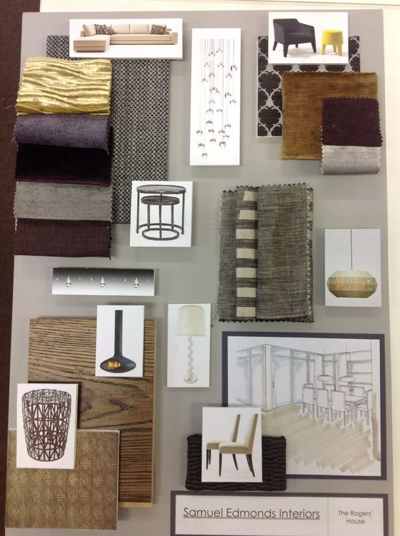 Sample board 1 material science pinterest What is a sample board in interior design