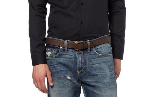 Можно ли носить узкий ремень с джинсами, если шлевки на них рассчитаны под широкий ремень?