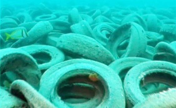 Using Tires to Create an Artificial Reef in Florida Was a Really Bad Idea